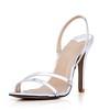 Women's Sandals Average PU Stiletto Heel Sandals Dress