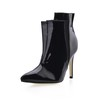 Wedding Boots Split Joint Stiletto Heel Girls' Stretch Fabric Narrow