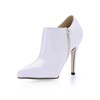 Booties/Ankle Boots Pumps/Heels Stiletto Heel Office & Career Zipper Boots Average