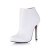 Outdoor Pumps/Heels Women's PU Round Toe Booties/Ankle Boots Zipper