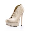 Sparkling Glitter Pumps/Heels Extra Wide Girls' Round Toe Party & Evening Sequined Cloth/Sparkling Glitter