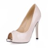 Stiletto Heel Wedding Shoes Pumps/Heels Girls' Party & Evening Opalescent Lacquers Narrow