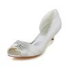 Pumps/Heels Pumps/Heels Women's Party & Evening Low Heel Satin