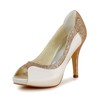 Girls' Platforms Office & Career Satin Stiletto Heel Pumps/Heels Split Joint