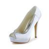 Satin Platforms Stiletto Heel Girls' Rhinestone Party & Evening Pumps/Heels