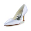 Pointed Toe Pumps/Heels Kitten Heel Satin Women's Honeymoon