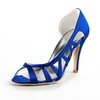 Cut Out Pumps/Heels Girls' Average Wedding Satin Kitten Heel