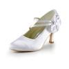 Average Pumps/Heels Pumps/Heels Spool Heel Patent Leather Girls' Rhinestone