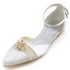 Casual Flats Sandals Flat Heel Girls' Silk Like Satin Imitation Pearl
