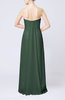 Elegant Column Sweetheart Sleeveless Draped Wedding Guest Dresses