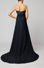 Elegant Sleeveless Zip up Court Train Ruching Homecoming Dresses