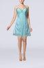 Modest Sweetheart Sleeveless Mini Ruching Wedding Guest Dresses