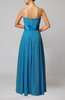 Elegant Empire Sleeveless Zipper Chiffon Floor Length Wedding Guest Dresses