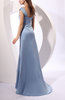 Traditional Sheath Thick Straps Zip up Satin Ruching Homecoming Dresses