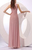 Traditional Sheath Scoop Sleeveless Floor Length Mother of the Bride Dresses