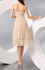 Simple A-line Sweetheart Chiffon Knee Length Bridesmaid Dresses