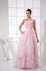 Disney Princess A-line Asymmetric Neckline Sleeveless Zip up Sash Sweet 16 Dresses