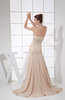 Glamorous Fit-n-Flare Sweetheart Sleeveless Ankle Length Beaded Homecoming Dresses