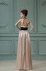 Vintage Sheath Sleeveless Elastic Woven Satin Sash Bridesmaid Dresses