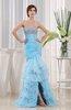 Modest Garden Trumpet Sleeveless Floor Length Rhinestone Bridal Gowns