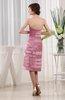 Plain Sheath Sweetheart Sleeveless Satin Prom Dresses