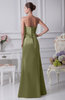 Modest Sheath Sweetheart Sleeveless Lace up Ruching Evening Dresses