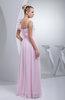 Hawaiian A-line Sleeveless Chiffon Floor Length Beaded Prom Dresses