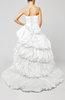 Disney Princess Hall Strapless Sleeveless Taffeta Beading Bridal Gowns