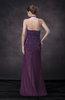 Classic Halter Backless Chiffon Sequin Evening Dresses