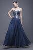 Elegant Sweetheart Backless Beading Wedding Guest Dresses