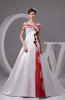 with Sleeves Bridal Gowns Off the Shoulder Luxury Satin Short Sleeve Summer