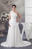 One Shoulder Bridal Gowns Classic Sleeveless Country Mature Amazing Chiffon