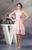 Chiffon Bridesmaid Dress Short Fall Amazing A line Flower Summer Spring