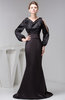 with Sleeves Prom Dress Mermaid Dream Spring Western Formal Hourglass