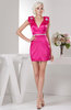 Sexy Party Dress Short Trendy Sheath Garden Rhinestone Mini Chic Autumn