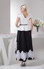 Short Homecoming Dress Long with Sleeves Chic A line Short Sleeve