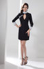 Long Sleeve Club Dress Casual High Neck Autumn Fall Plus Size Pretty Trendy