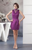 Summer Cocktail Dress Inexpensive High Neck Glamorous Affordable Country