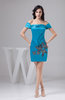 with Sleeves Bridesmaid Dress Short Luxury Trendy Mini Plus Size Winter