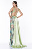 Romantic A-line Sleeveless Lace up Floor Length Plus Size Prom Dresses
