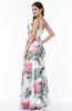 Elegant Fit-n-Flare Half Backless No Floor Length Plus Size Prom Dresses