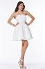 Modern Strapless Sleeveless Zipper No Plus Size Prom Dresses