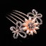 Party Hair Comb Eye-catching Rhinestones Hair Jewelry
