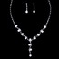Jewelry Sets Drop Earrings Fashional Wedding Claw Chains