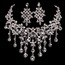 Amazing Pendant Necklaces Alloy Engagement Jewelry Sets