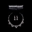 Gorgeous Drop Earrings Jewelry Sets Rhinestones Engagement