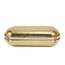 Patent Leather Bridal Purse Gorgeous Single Shoulder Strap Imitation Pearl