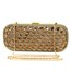 Single Strap Clutches Unique Crystal/Rhinestone Crystal/Rhinestone