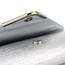 Fashional Clutches PU Single Shoulder Strap Metal