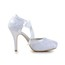 Wedding Dance Shoes D'Orsay & Two-Piece Cone Heel Lace Lace Average